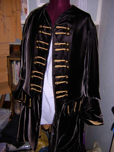Velvet Pirate Jacket Sewing Projects Burdastyle Com