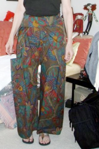 Thai Fisherman Pants Instructions Sewing Projects
