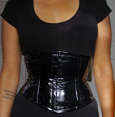 pvc underbust corset – Sewing Projects