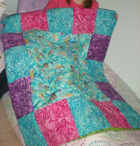 Paper Panache Paper-Pieced Mermaid Quilt Pattern