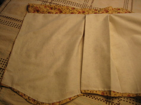 Scalloped Box Pleat Valance Sewing Projects Burdastyle Com