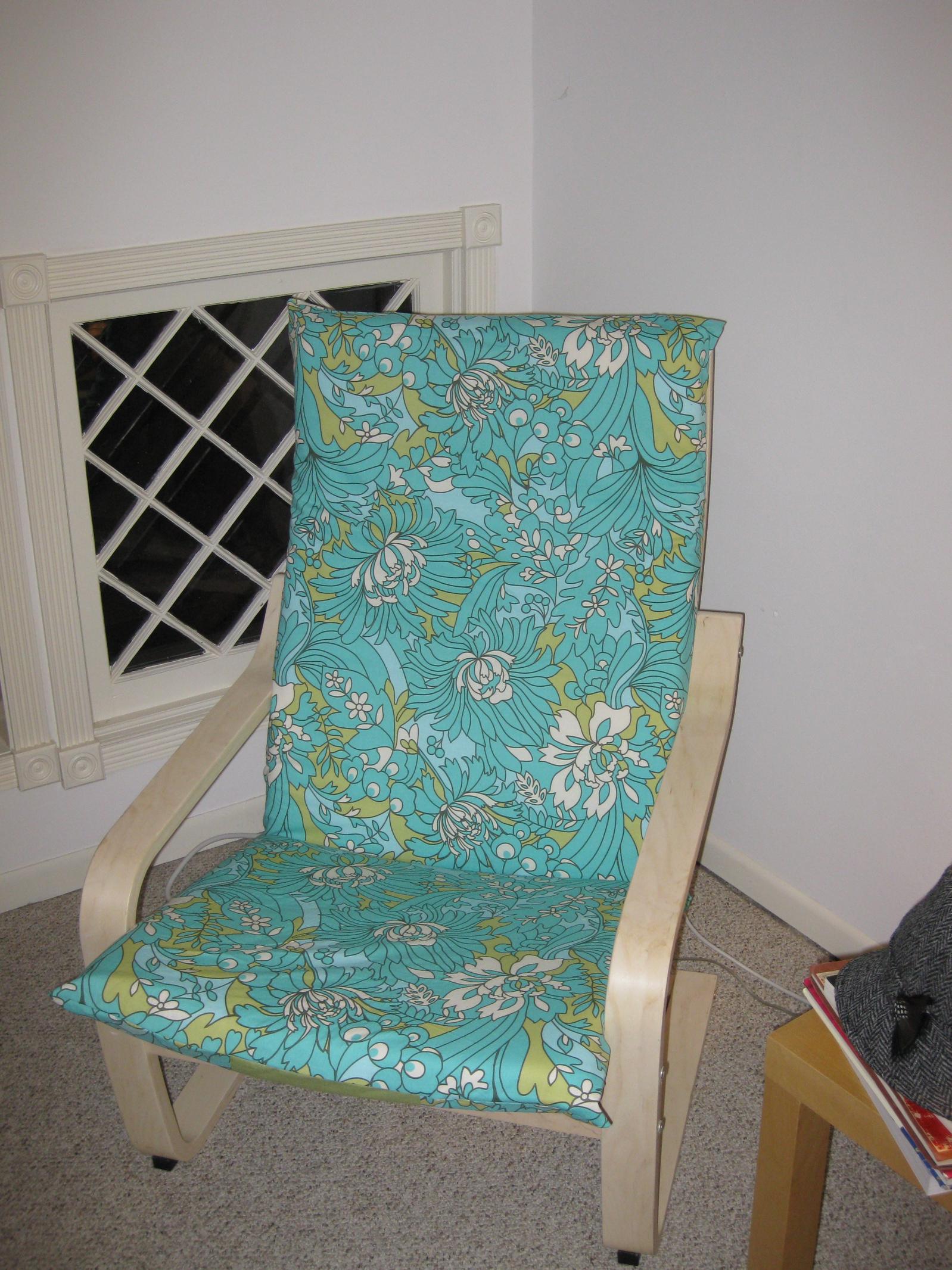 Ikea chair cover sewing projects - Jugendzimmer fabric ...