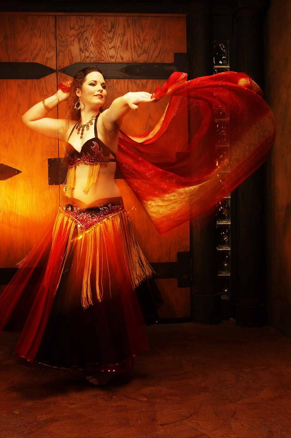 Crystal Flame Belly Dance Costume Sewing Projects