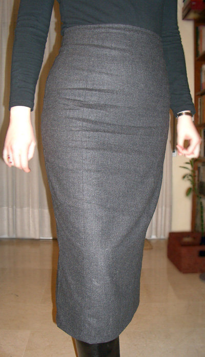 Long tight skirt – Sewing Projects | BurdaStyle.com