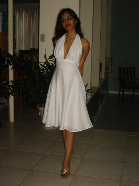 Marilyn Monroe inspired linen dress – Sewing Projects ...