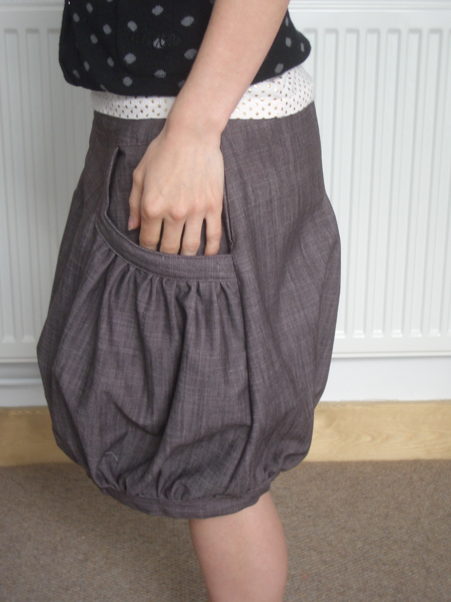 Balloon skirt – Sewing Projects