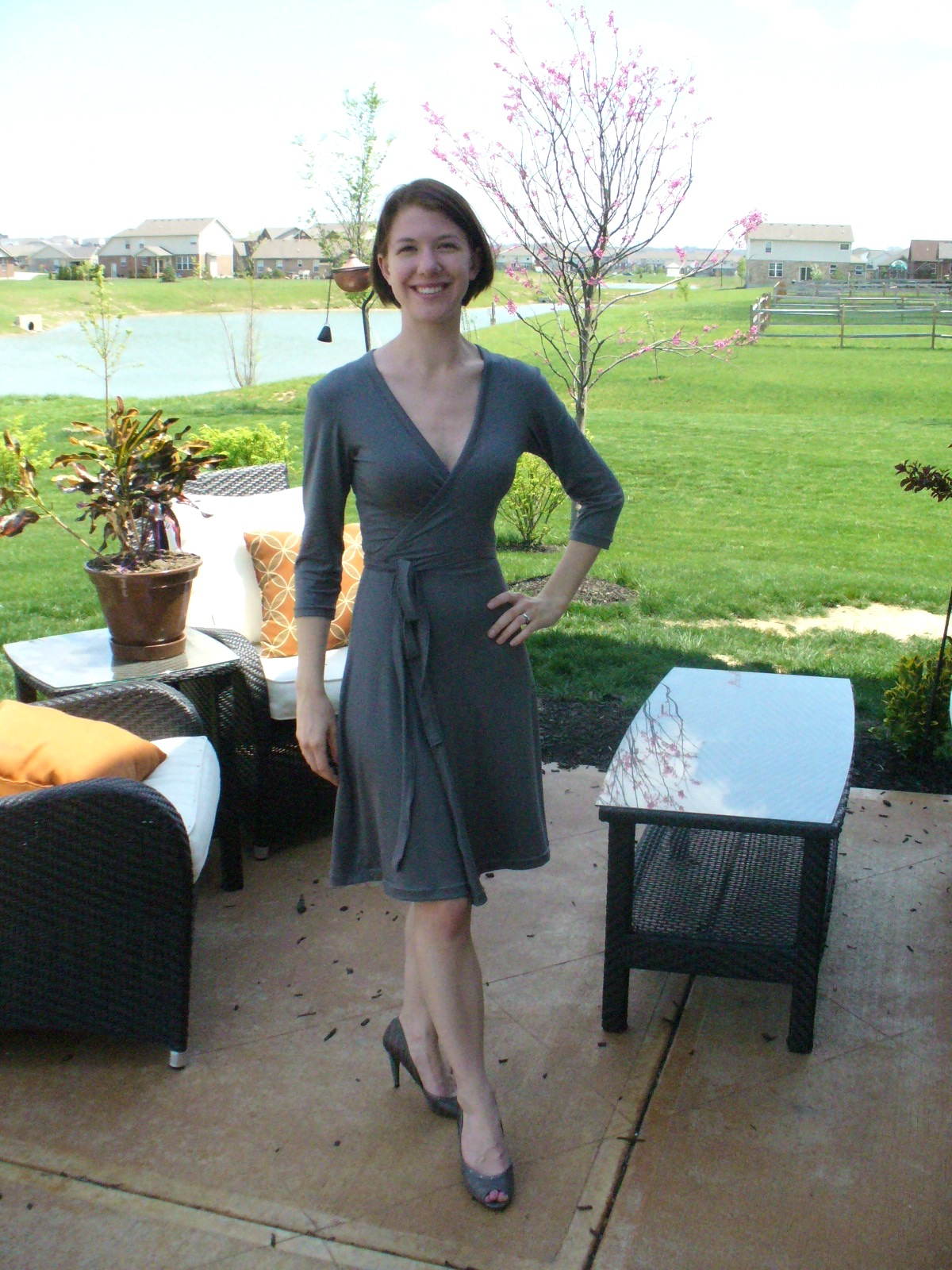 Hope Wrap Dress Sewing Projects Burdastyle Com
