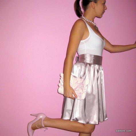 Silky Skirt 59