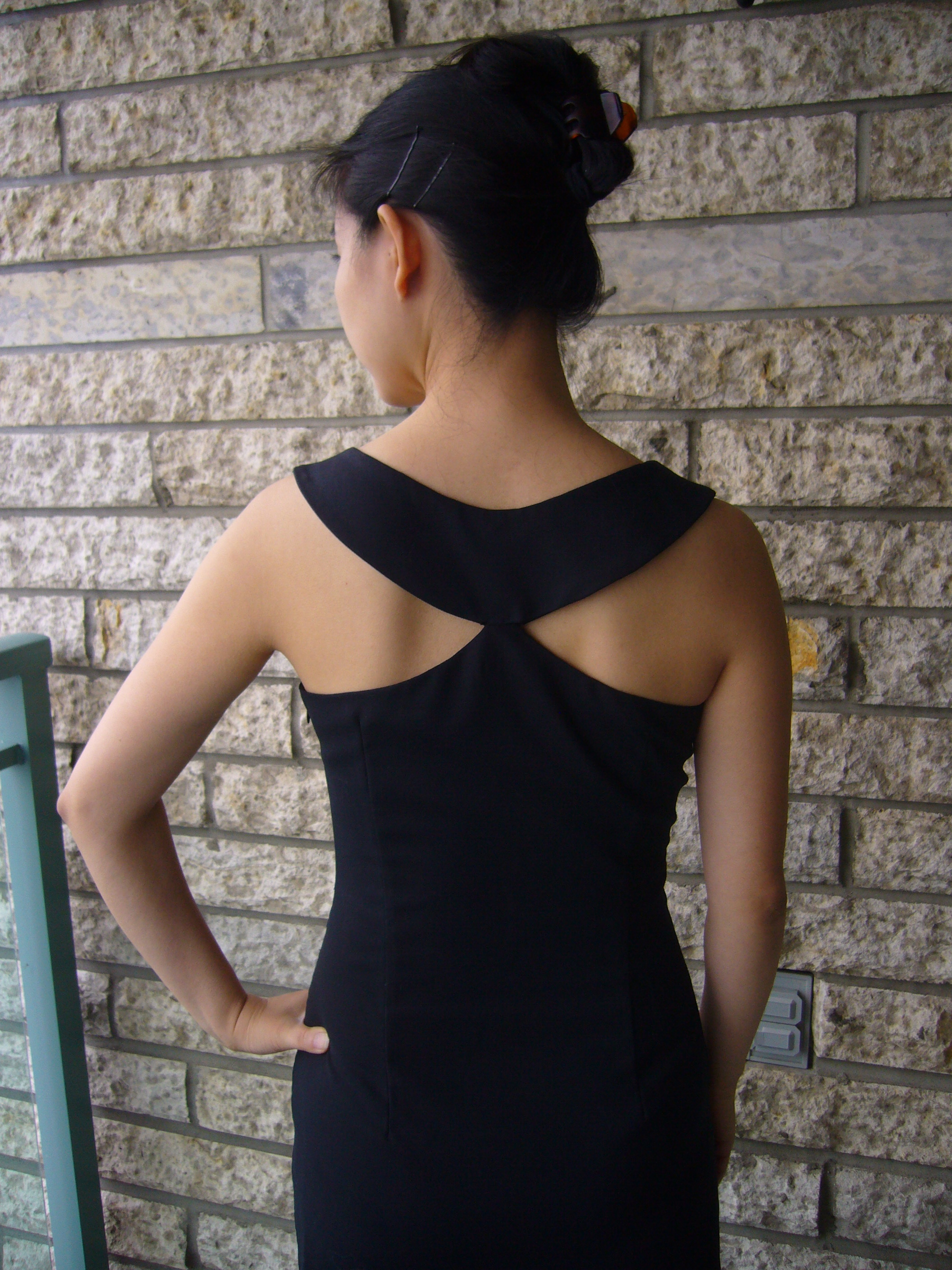 Little Black Dress Inspired by Givenchy – Sewing Projects ...