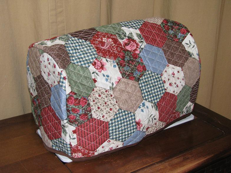 Book Cover Sewing Machines ~ Quilted sewing machine cover projects