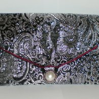 Black_silver_clutch_front_listing