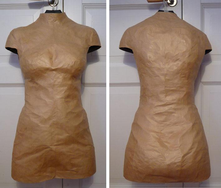 Custom Paper Tape Dress Form – Sewing Projects | BurdaStyle.com