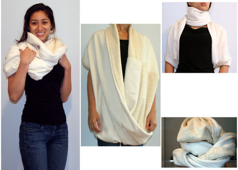 Free Fleece Scarf Patterns - Sewing - BellaOnline - The Voice of Women