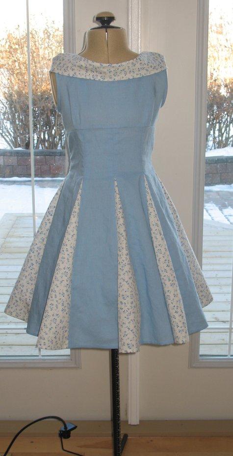 Vintage birthday dress sewing projects burdastyle