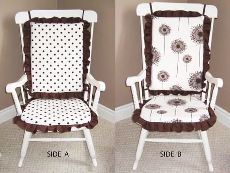 Rocking Chair Cushions (Reversible) – Sewing Projects | BurdaStyle.