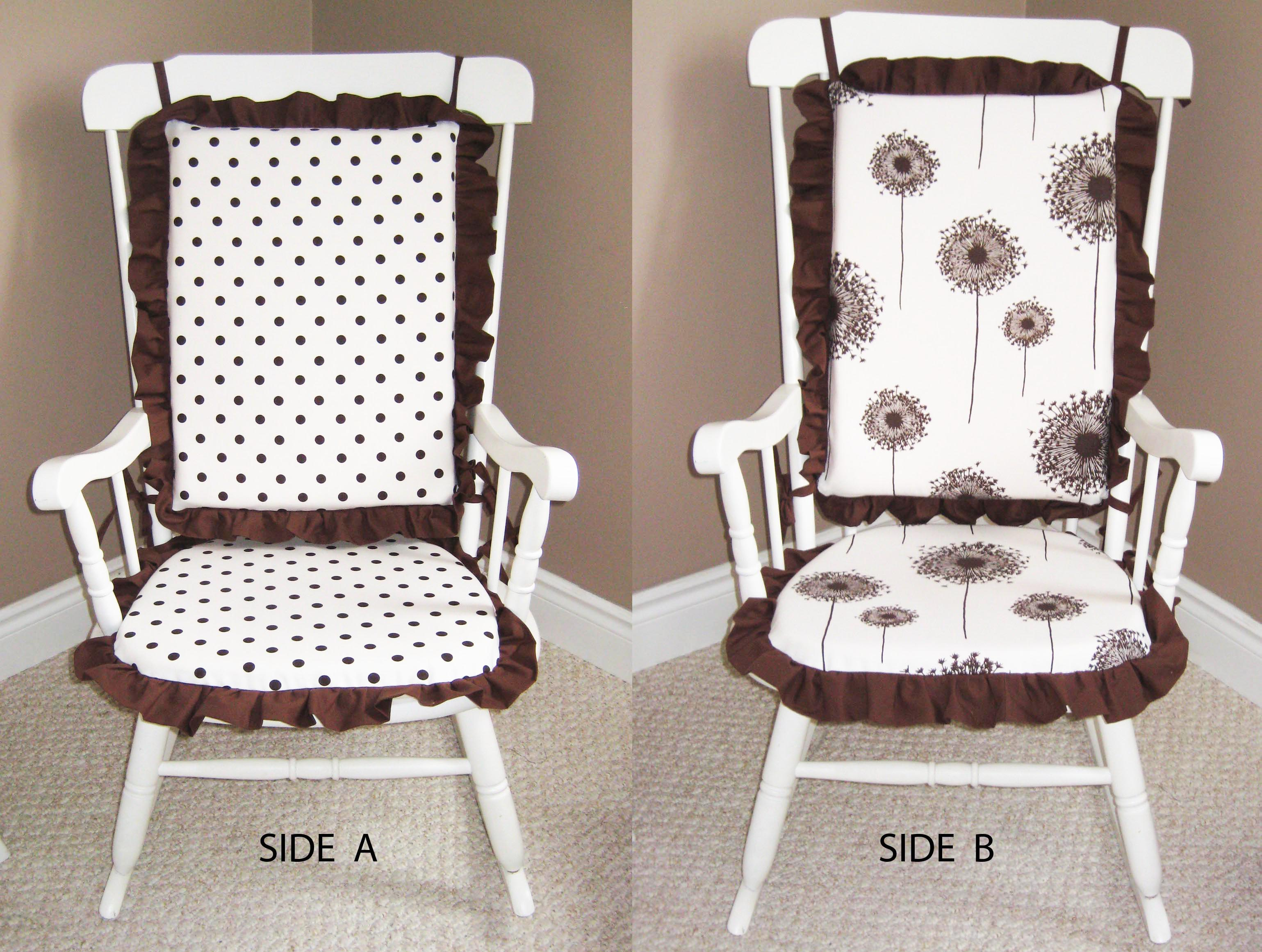 Rocking Chair Cushions (Reversible) – Sewing Projects  BurdaStyle ...
