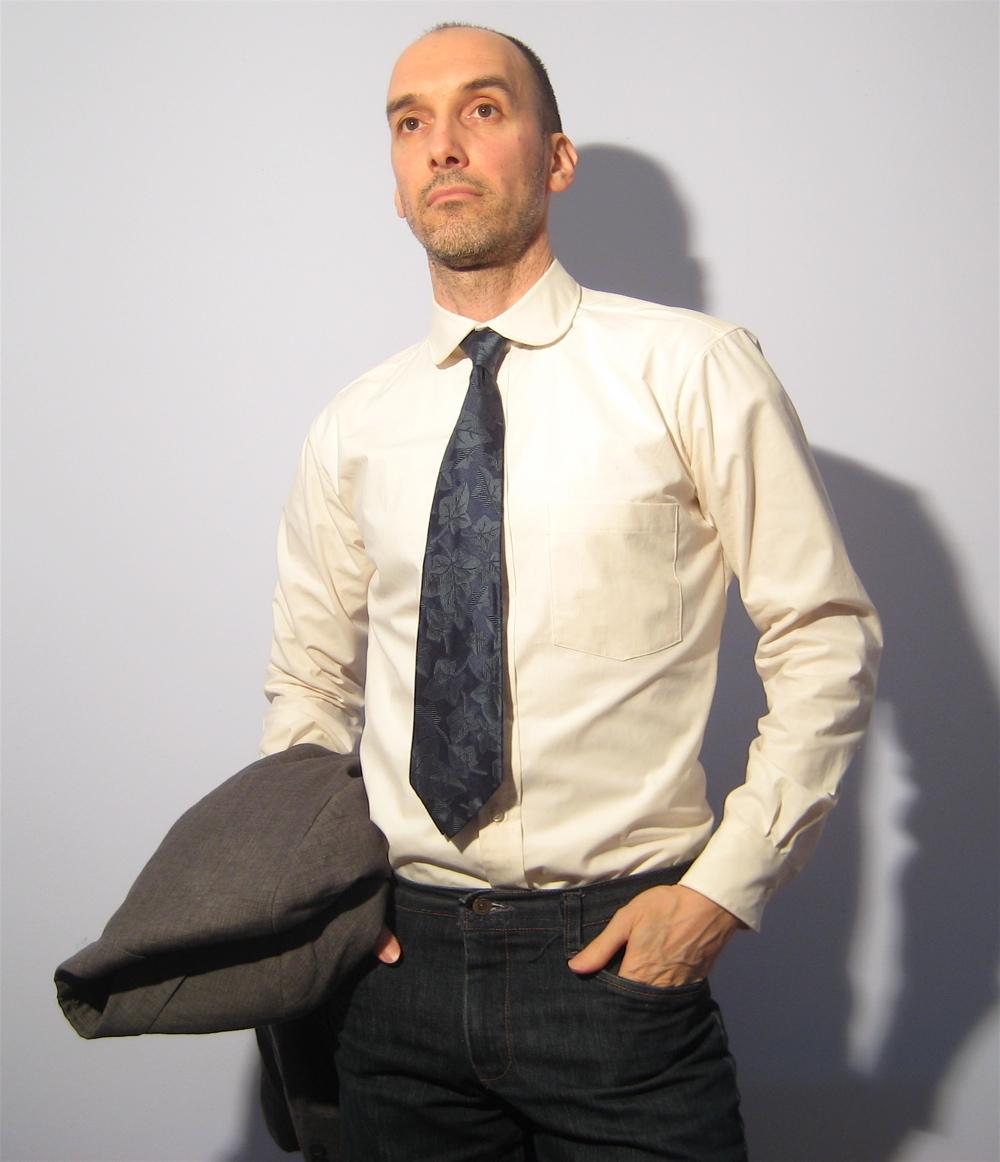 Menu0026#39;s Long-sleeve Dress Shirt With Club Collar U2013 Sewing Projects | BurdaStyle.com