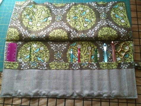SEWING PATTERNS CROCHET HOOK ROLL – Easy Crochet Patterns