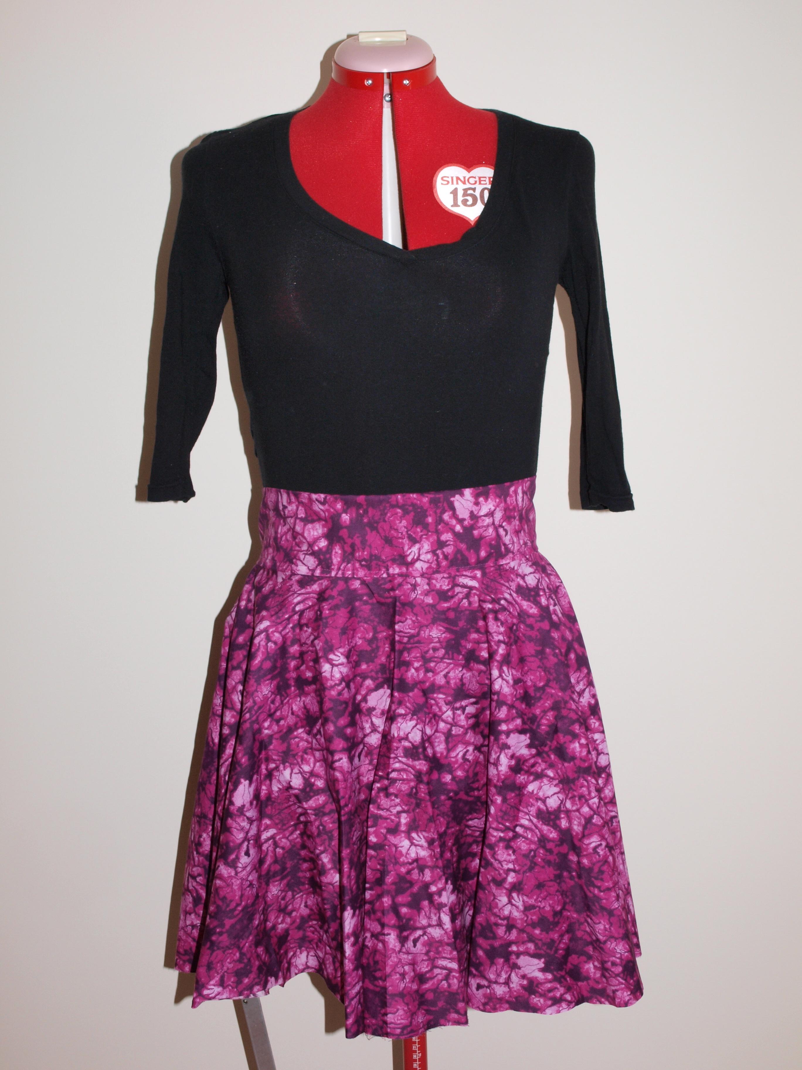 Circle Skirt Sewing 40
