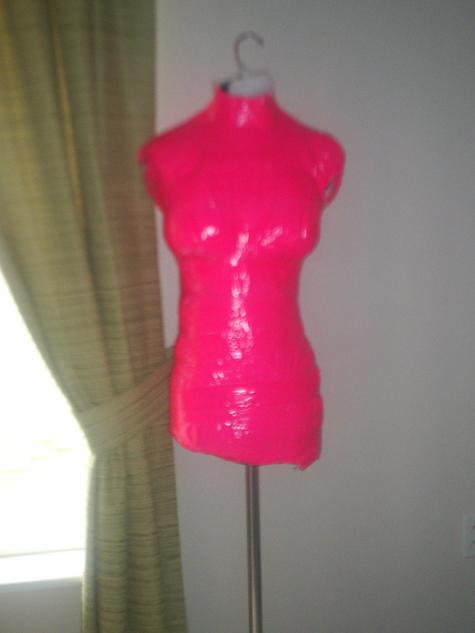 My Pink Duct Tape Dress Form &lt3 (Not Finished) – Sewing Projects ...