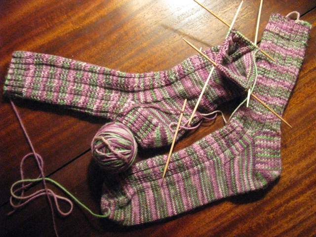 Knitting socks for beginners   Sewing Projects BurdaStyle.com