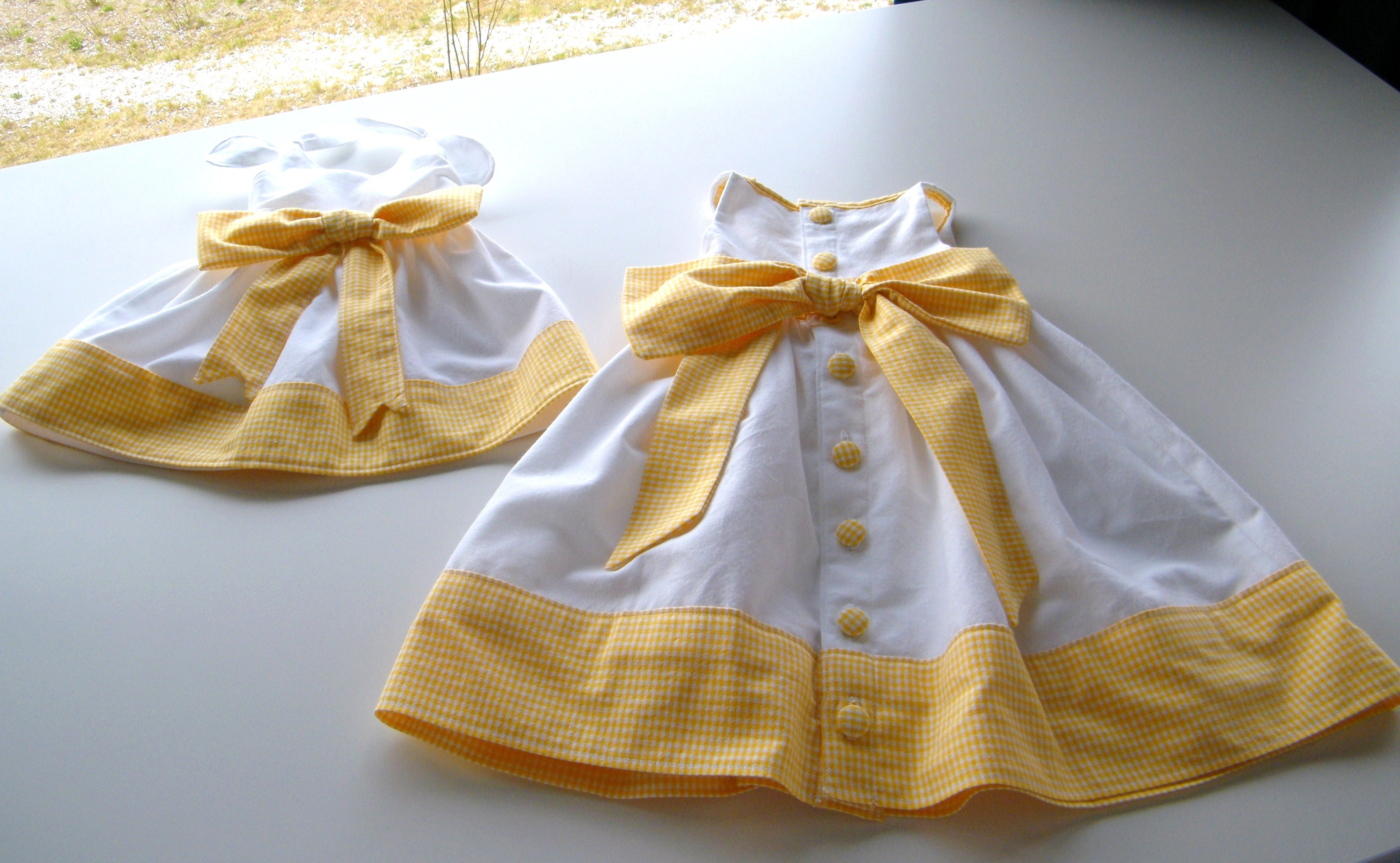 Newborn And Toddler Dress Set Sewing Projects