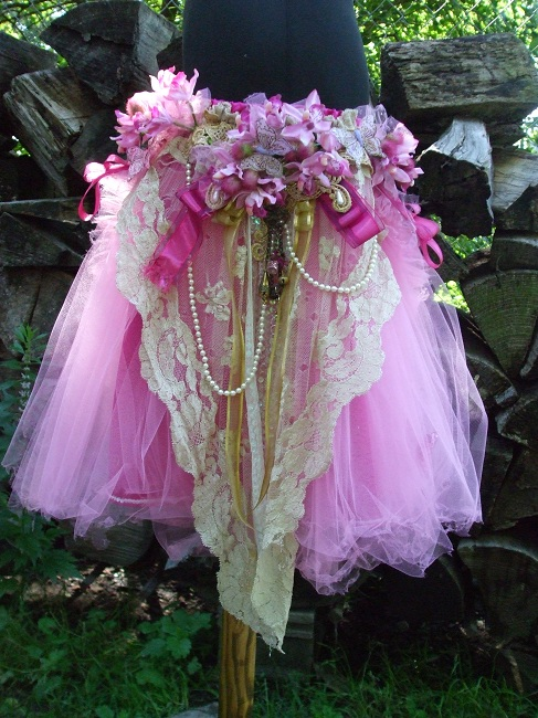 Beaded Fairy Skirt Sewing Projects Burdastyle Com