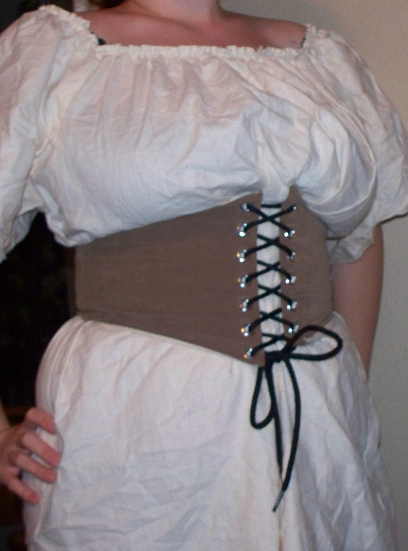 Пояс на шнуровке сшить