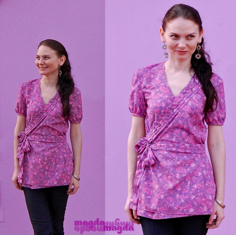 La vie en rose et mauve sewing projects for Mauve la vie claire