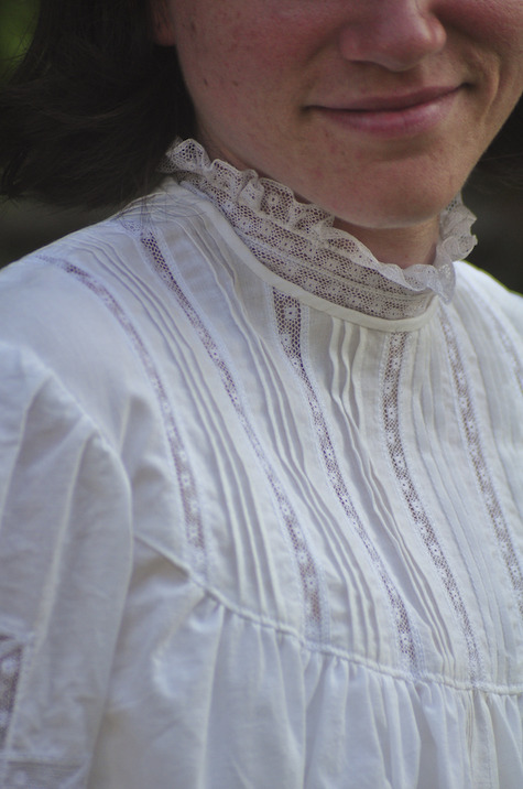 Gibson Girl Day Blouse  U2013 Sewing Projects