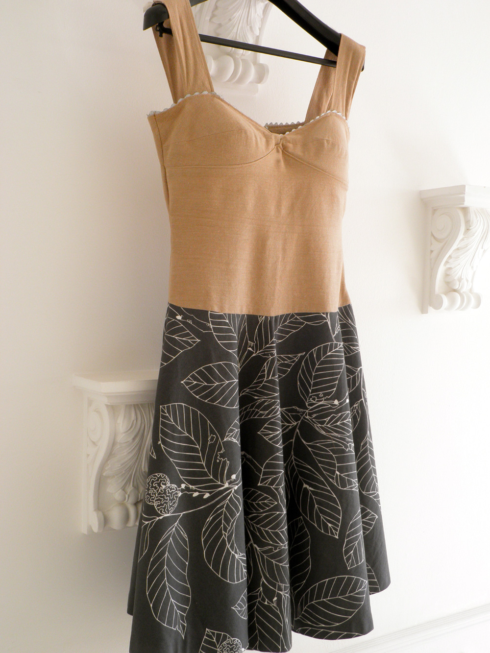 Drop Waist Corset Dress – Sewing Projects | BurdaStyle.com