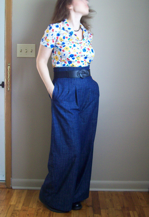 The Perfect Pair of Wide Leg Pants – Sewing Projects | BurdaStyle.com