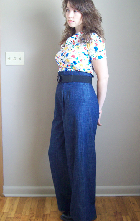 The Perfect Pair of Wide Leg Pants – Sewing Projects ...