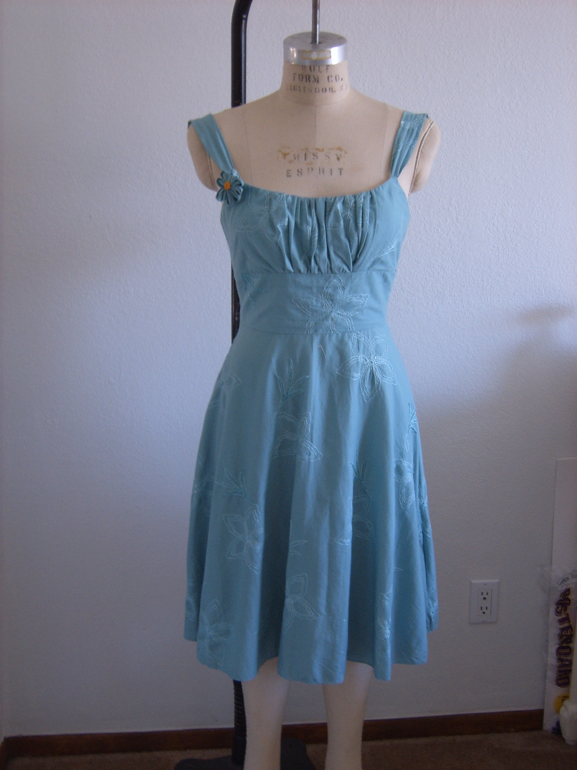 Summer Wedding Guest Dress – Sewing Projects