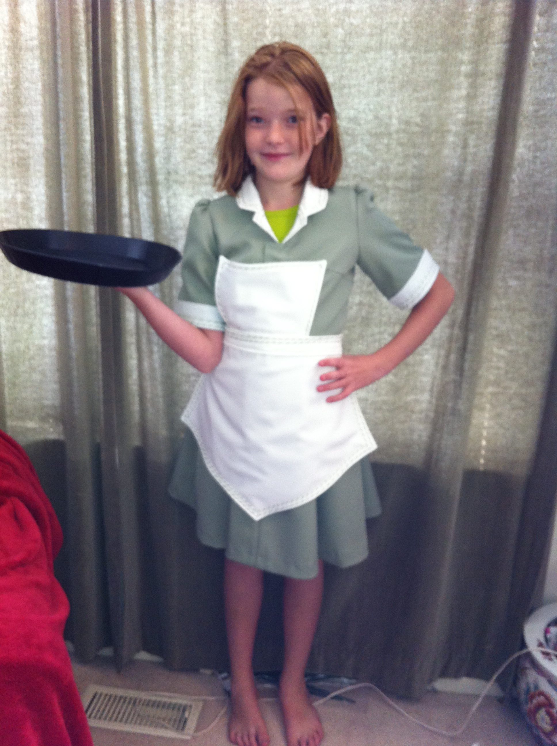 Waitress Uniform For Halloween Sewing Projects