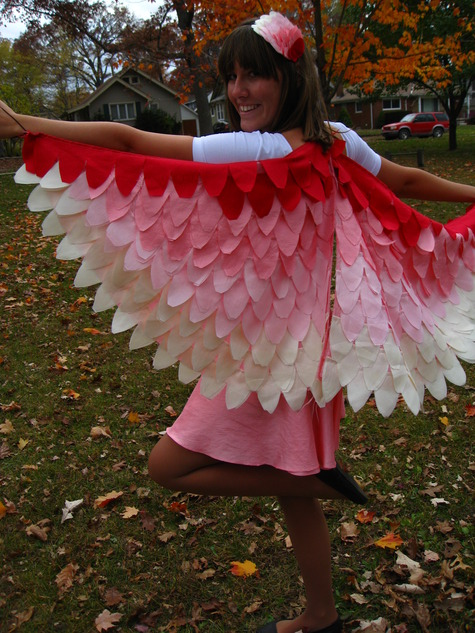 Homemade Bird Costume For Women Natty's Birds of a Fea...