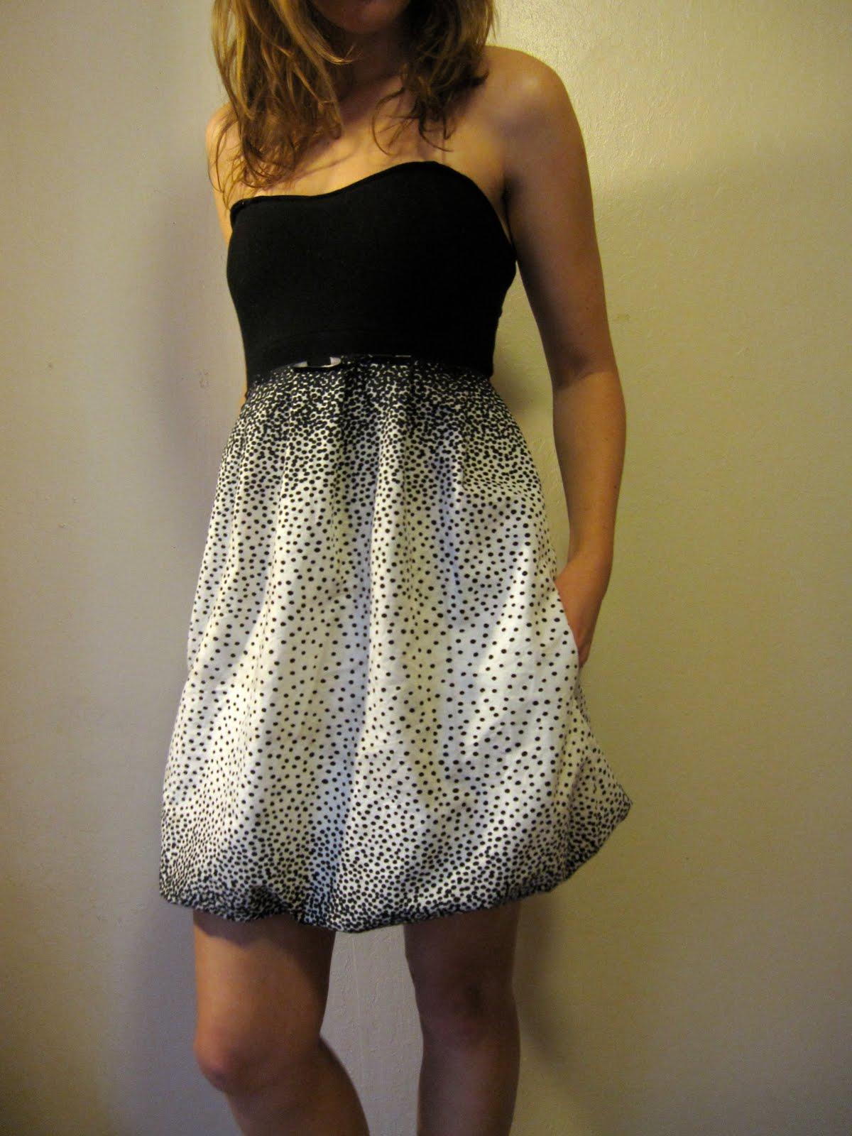 sweetheart bubble dress � sewing projects burdastylecom