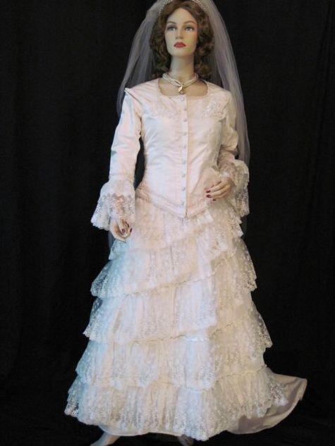 Bernina 3 series phantom of the opera wedding dress for Phantom of the opera wedding dress