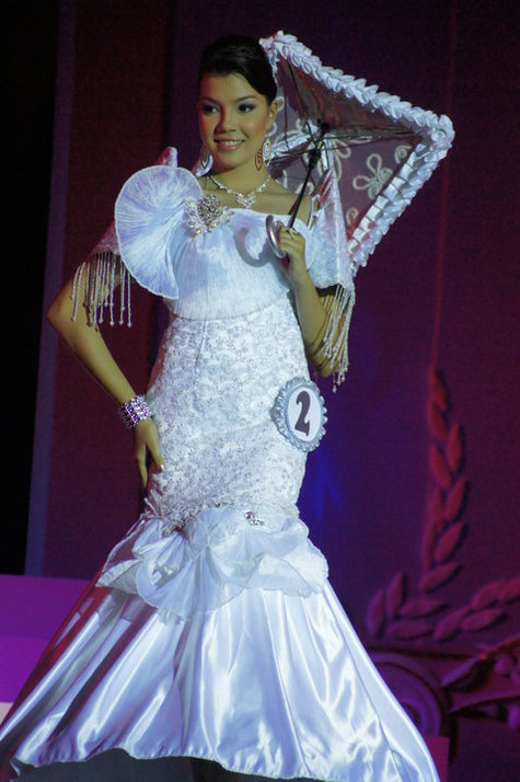 white mermaid cut filipiniana gown  u2013 sewing projects