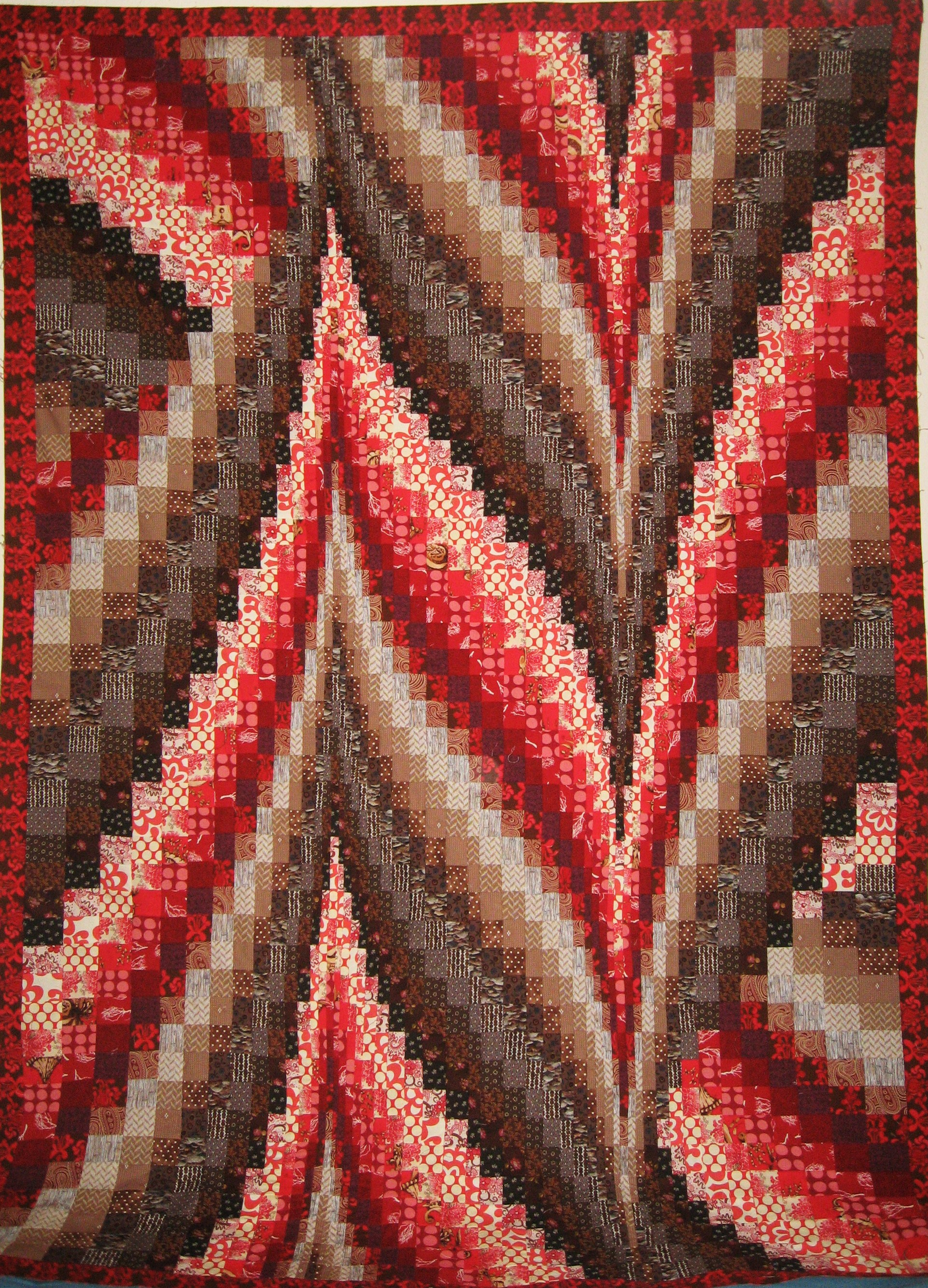 Bargello Quilt Top 2 Sewing Projects Burdastyle Com