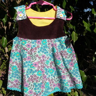 Turquoise_flower_dress_front_2_listing
