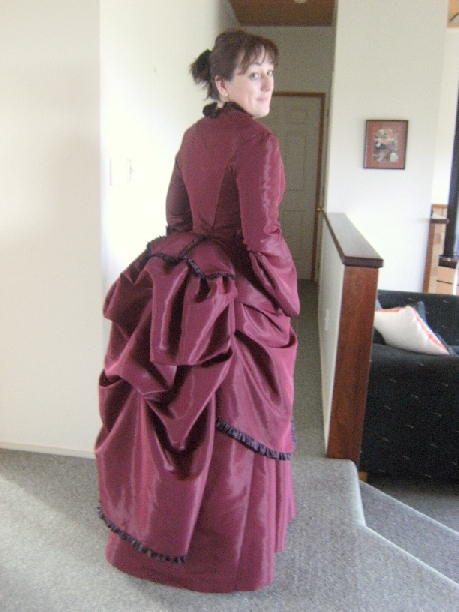 1870 S Bustle Dress Sewing Projects Burdastyle Com