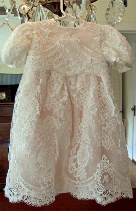 Baby Lace Christening Gown Sewing Projects Burdastyle Com
