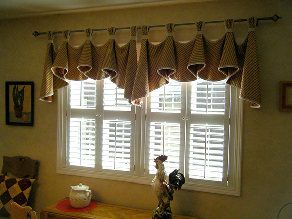 mother 39 s kitchen valance sewing projects