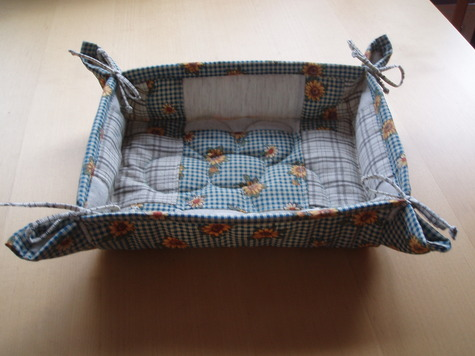 Bread basket – Sewing Projects | BurdaStyle.com : quilted basket pattern - Adamdwight.com