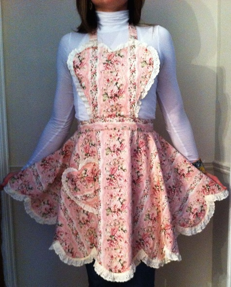 Sweetheart Vintage Full Apron Sewing Projects