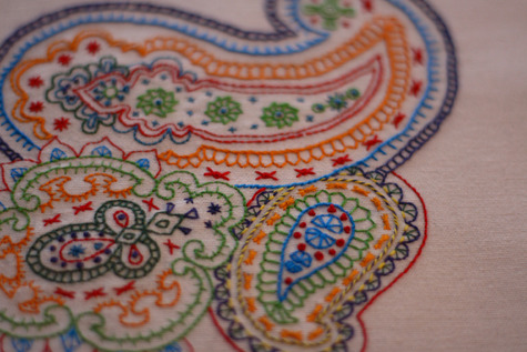 Freeform paisley embroidery – Sewing Projects | BurdaStyle.com