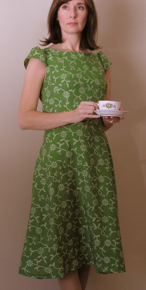 Afternoon Tea Dress Sewing Projects Burdastyle Com
