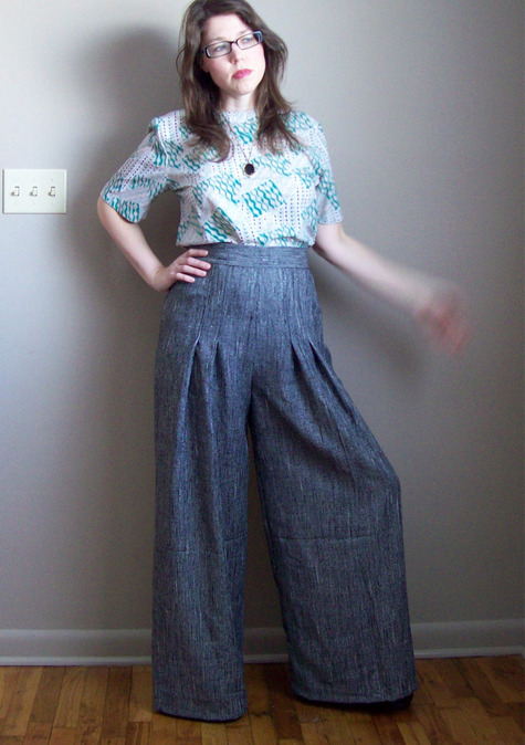 1970s Wide Leg Pants Sewing Projects Burdastyle Com