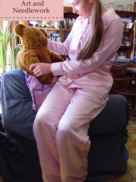 Satin Pajamas – Sewing Projects | BurdaStyle.com